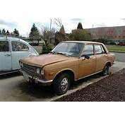 OLD PARKED CARS 1973 Datsun 510