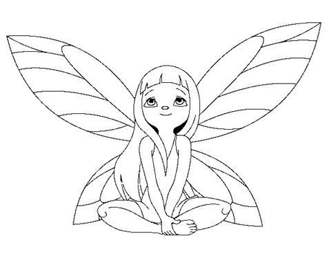 imagenes de hadas para dibujar a lapiz dibujo de hada fant 225 stica para colorear dibujos net