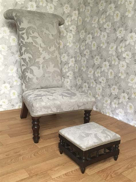 Prayer Stool Sale by Prayer Chair And Small Stool Number 10 Upholstery In Dorset