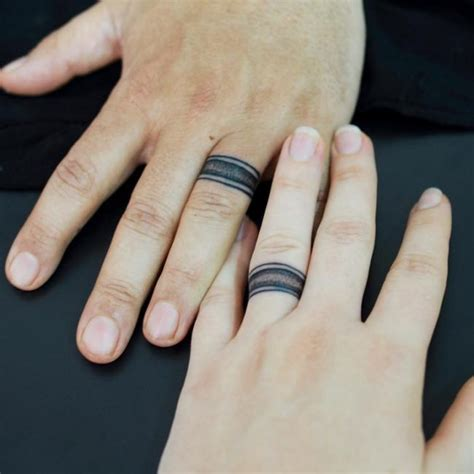 how long do finger tattoos last 55 wedding ring designs meanings true