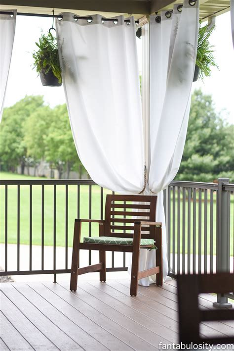 diy patio curtains make simple curtain tie backs curtain menzilperde net