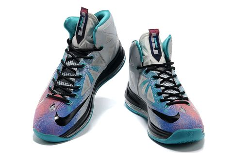colorful nike basketball shoes authentic 2014 nike lebron 10 colorful basketball