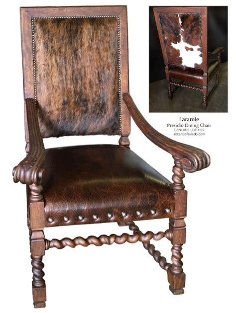 Cowhide Dining Chairs - cowhide dining chairs western furniture store southwest