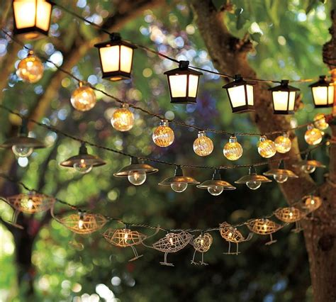Patio Light Strands Outdoor Lighting Tips To Illuminate The The Soothing