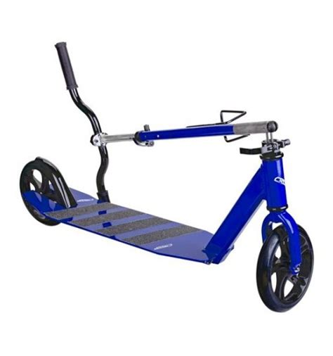 kids scooter with big wheels crisp big wheel scooter blue crisp scooters