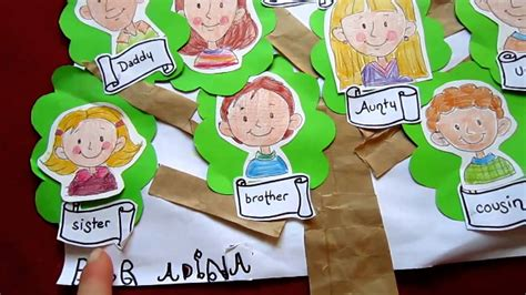 grade  social studies family tree craft youtube