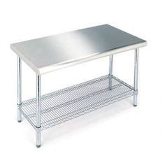stainless tool box with butcher block top by whalen 500