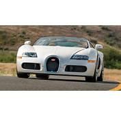 Sleek All White Bugatti Veyron Grand Sport En Route To Auction