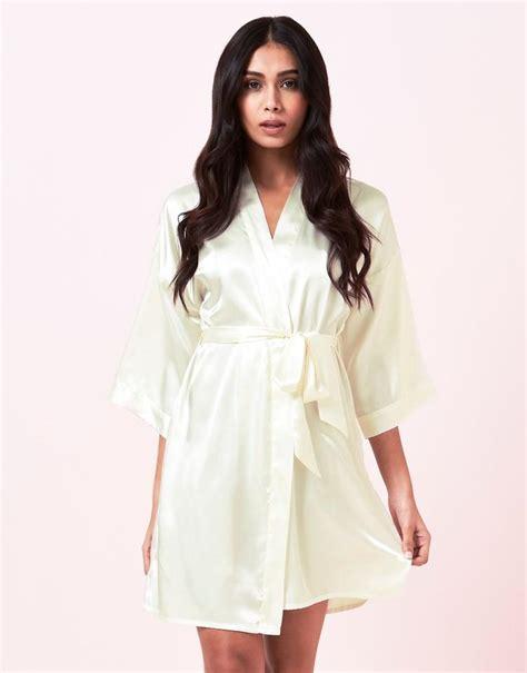 lipsy robe lipsy robe in white lyst