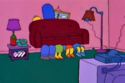 simpsons on couch family couch couch gag simpsons wiki