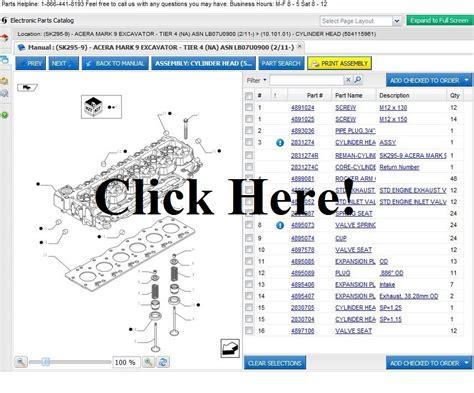 Kobelco Sk170 Excavator Parts Online Parts Store