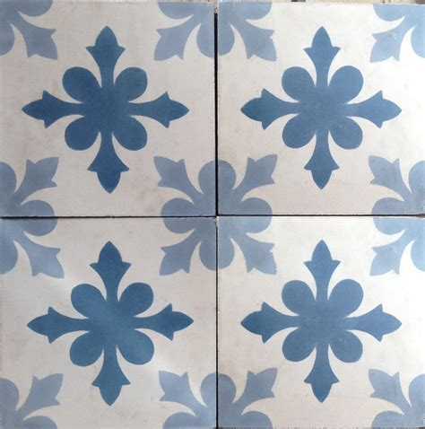 cement tile snowflake cement tile