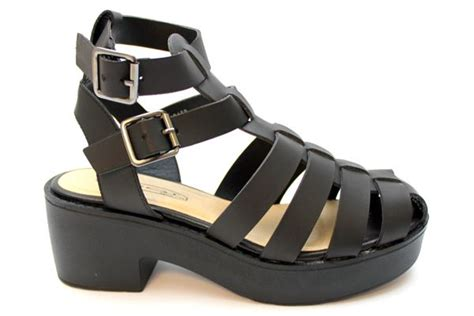 black chunky gladiator sandals black chunky heel gladiator sandals at mr shoes uk