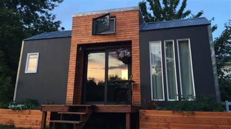 modern tiny house tiny house town bright and modern tiny house for sale