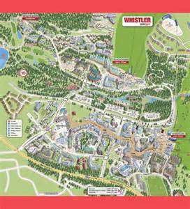 map of whistler canada whistler map whistler bc canada mappery