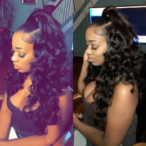 116 best half wigs ponytails with weave updo s too follow the queen for more poppin pins kjvouge hair