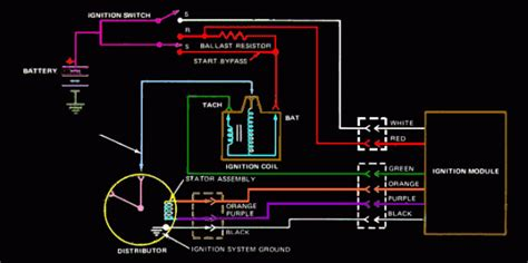 ford  ignition wiring diagram