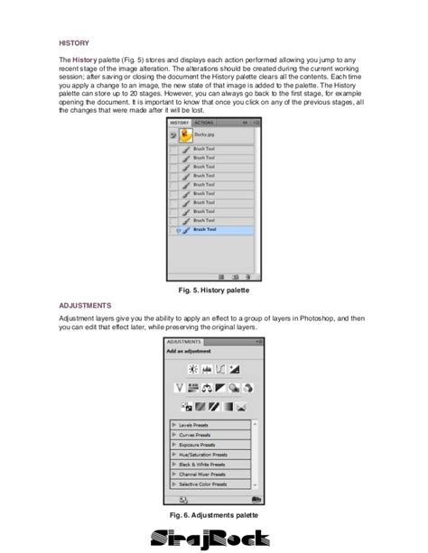 photoshop tutorial notes photoshop notes cs 4
