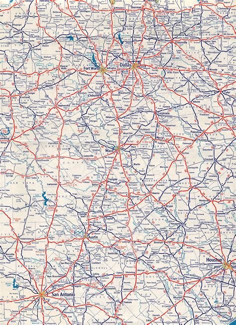 road map of road maps map