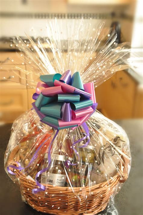 how to wrap gift basket hers gift baskets create your own luxury baskets