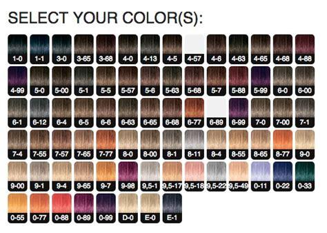 igora color chart schwarzkopf igora royal permanent color creme 12 1