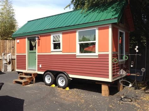 Tiny Houses A Red Caboose Caravan The Tiny House Hotel