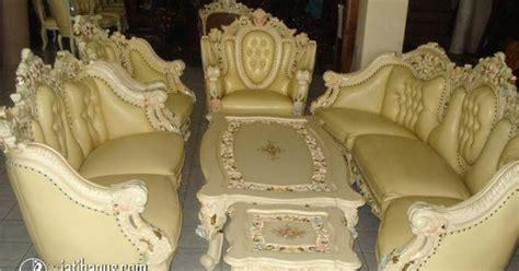 Kursi Tamu Gajah kursi tamu sofa monaco gajah duco putih