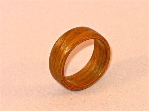 Handmade Wooden Rings - custom cherry bentwood ring handmade wooden ring by