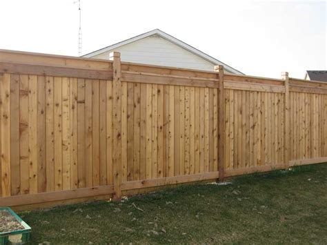 Wood Backyard Fence Fences Wood Fence Ideas For Backyard