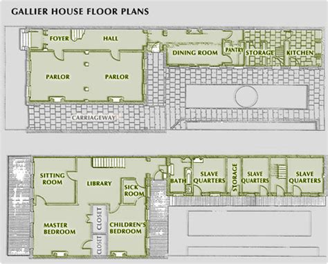 new orleans floor plans tulsa tiny stuff gallier house new orleans