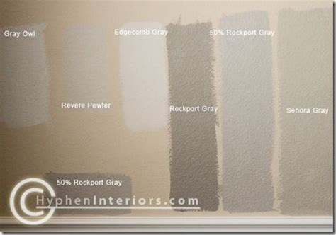 quot senora gray has a slight green undertone but read as a warm gray still neutral