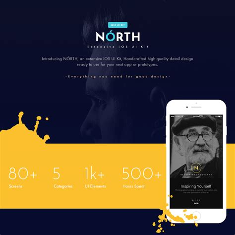 ui layout north north ios ui kit designmodo market