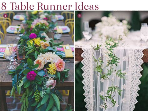 creative ideas for table runners design inspiration 8 creative table runner ideas