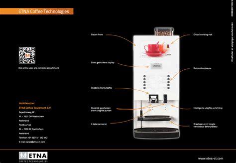 etna koffiemachine etna tucana espressomachine voor bedrijven pure africa