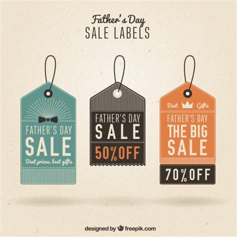 fathers day sale s day sale tags vector premium