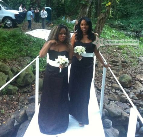 who is keisha cole about to marry keyshia cole ties the knot again in hawaii photos