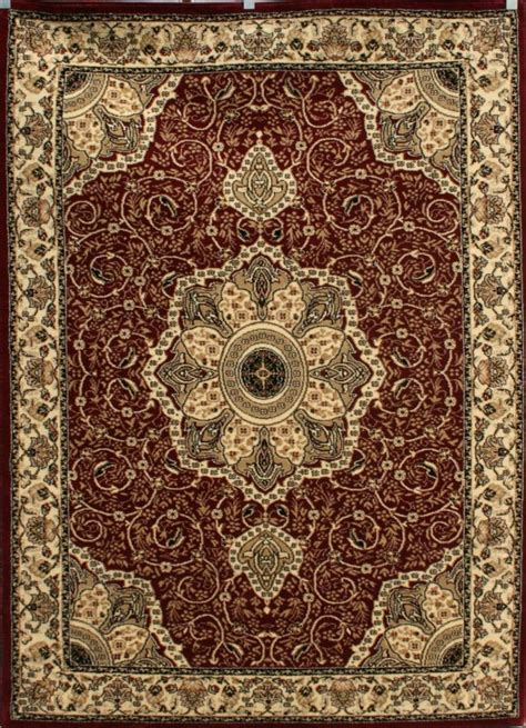 Area Rugs 5x7 0214 Burgundy Green Beige Ivory Gold 5x7 Area Rug Carpet Traditional Ebay