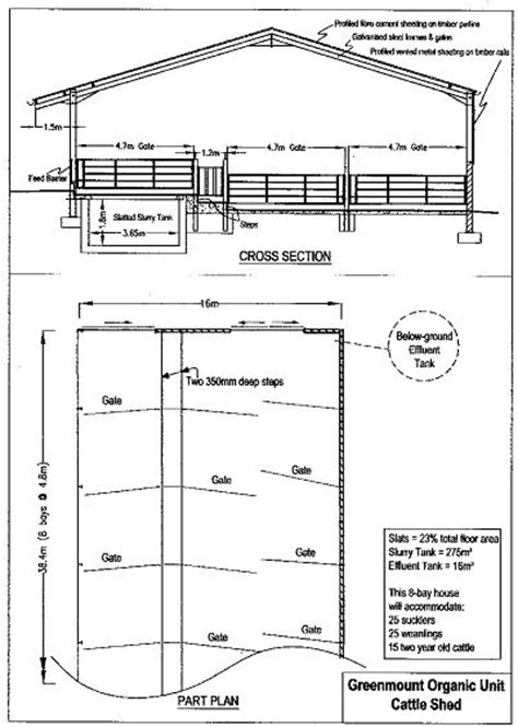 Livestock Shed Plans by Cattle Shed Plans How To Build Diy By 8x10x12x14x16x18x20x22x24 Blueprints Pdf Shed