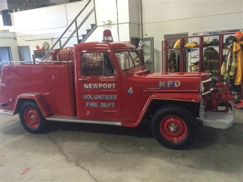 jeep fire truck 1955 willys fire truck photo submitted by greg