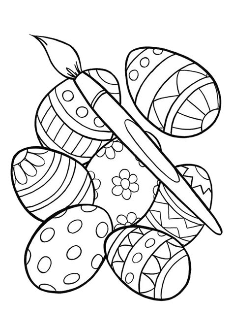 easter  easter coloring pages easter egg coloring
