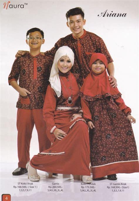 Arina Syari Maroon by naura baju muslim gamis modern