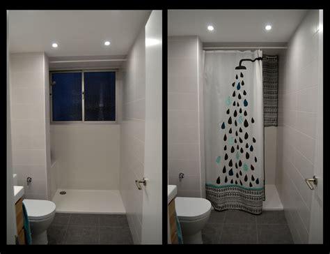 diy cortinas cortina de ducha diy departamento de ideas