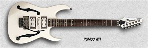 Ibanez Pgm 30 Wh Made In Jepang pgm30 ibanez wiki