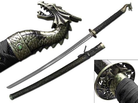 Handmade Kitchen Knives black dragon sword