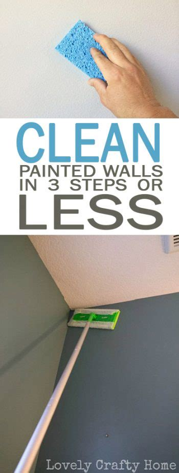 how to clean painted walls clean painted walls in three steps or less 101 days