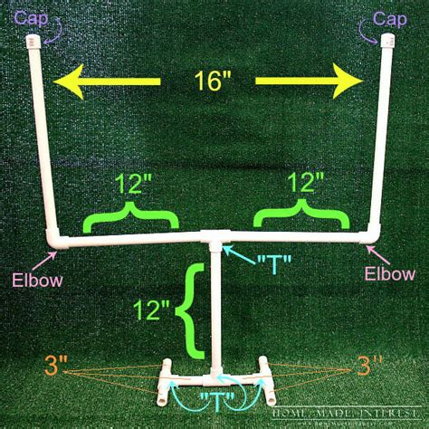 How To Make A Football Field Out Of Paper - day decor table football field goal home