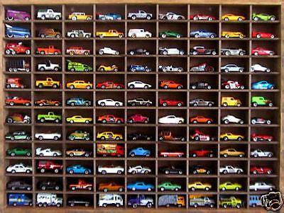 Matchbox Hot Wheels Handmade Display Case 1:64 108 cars   eBay