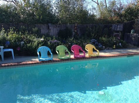 pool recliners 30 awesome backyard chair ideas to try right now hometalk