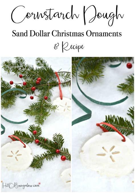 christmas dough recipe cornstarch dough ornaments and recipe h20bungalow