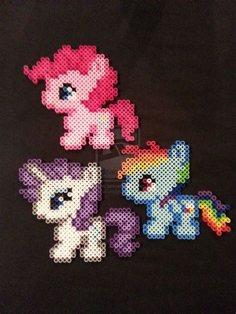 my pony perler 17 best images about perler my pony my